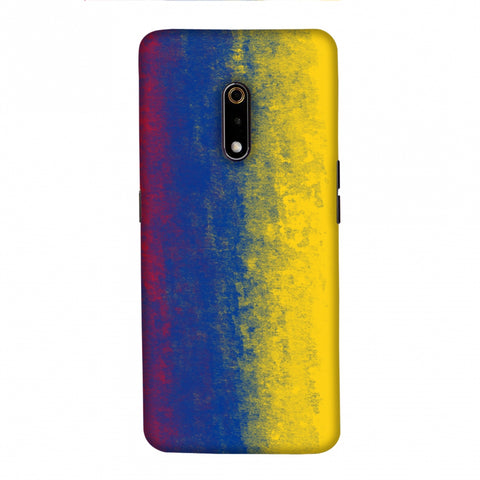 Football - Love For Colombia Slim Hard Shell Case For Realme X