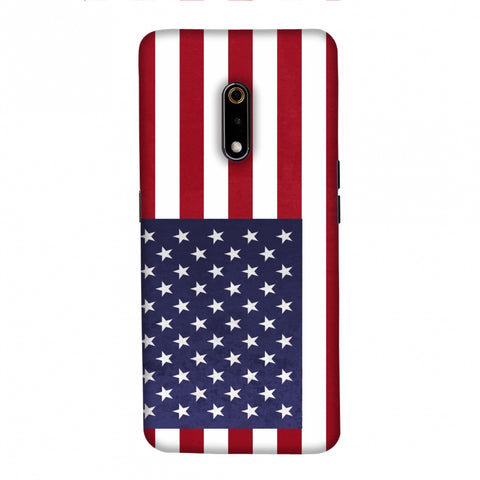 Love For USA Slim Hard Shell Case For Realme X