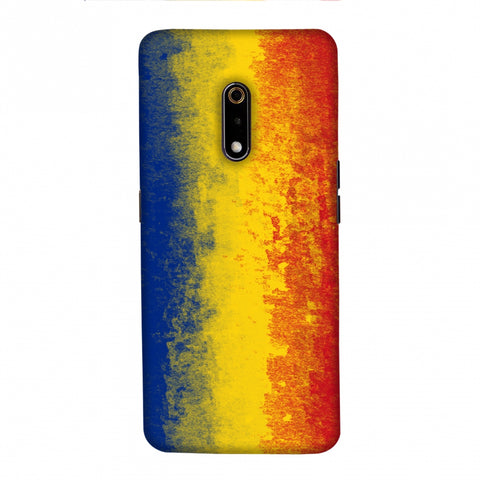 Love For Romania Slim Hard Shell Case For Realme X
