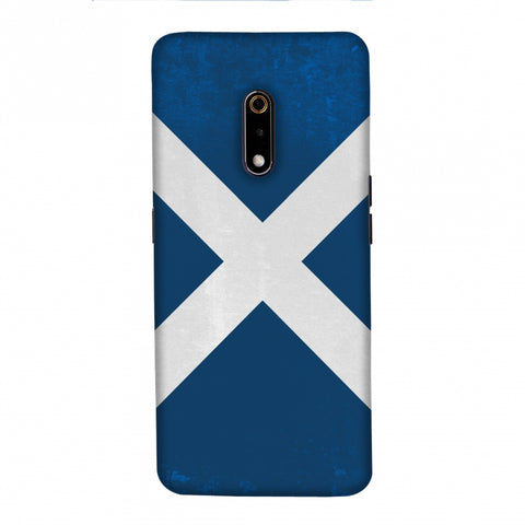Love For Scotland Slim Hard Shell Case For Realme X