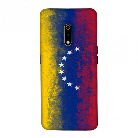 Love For Venezuela Slim Hard Shell Case For Realme X