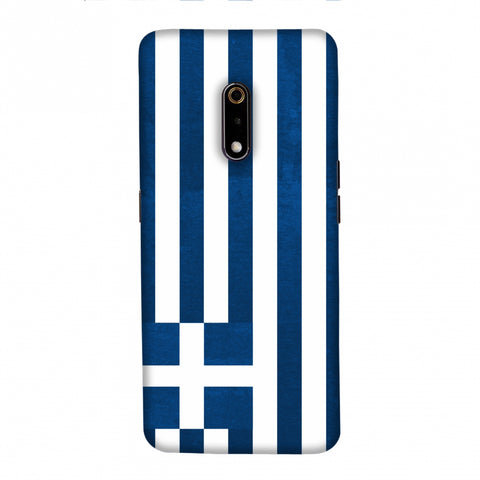 Love For Greece Slim Hard Shell Case For Realme X