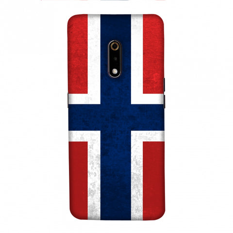 Love For Norway Slim Hard Shell Case For Realme X