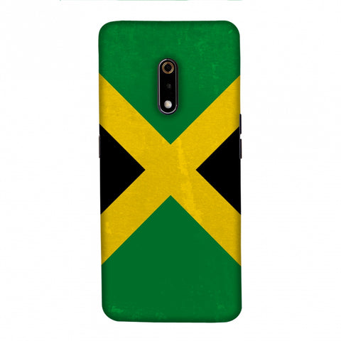 Love For Jamaica Slim Hard Shell Case For Realme X