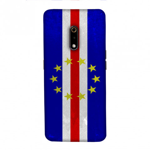 Love For Cape Verde Islands Slim Hard Shell Case For Realme X