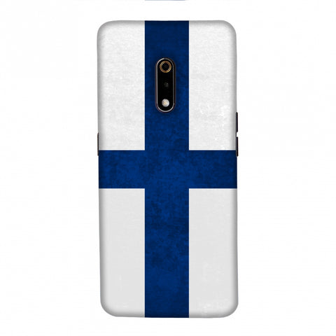 Love For Finland Slim Hard Shell Case For Realme X