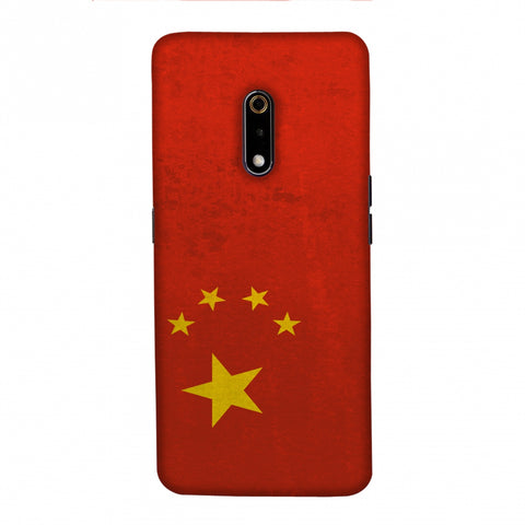 Love For China Slim Hard Shell Case For Realme X