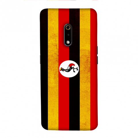 Love For Uganda Slim Hard Shell Case For Realme X