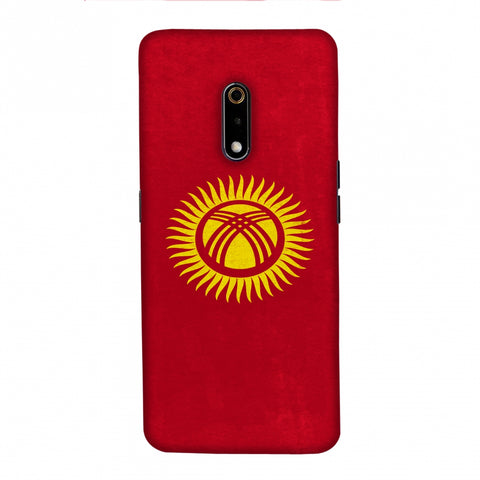 Love For Kyrgyz Republic Slim Hard Shell Case For Realme X