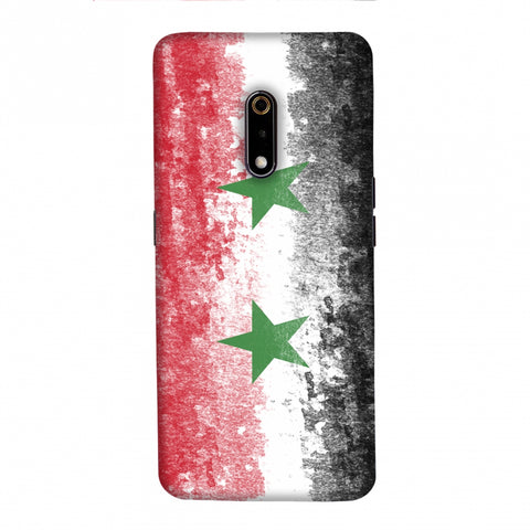 Love For Syria Slim Hard Shell Case For Realme X