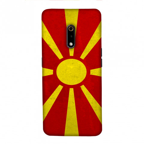 Love For FYR Macedonia Slim Hard Shell Case For Realme X