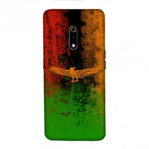 Love For Zambia Slim Hard Shell Case For Realme X