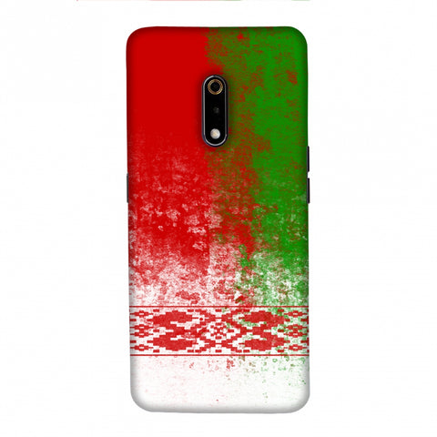 Love For Belarus Slim Hard Shell Case For Realme X