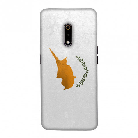 Love For Cyprus Slim Hard Shell Case For Realme X