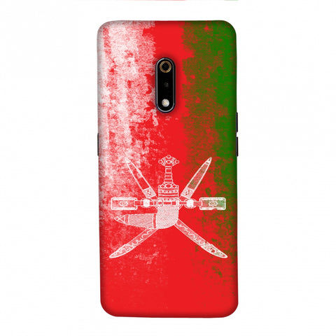 Love For Oman Slim Hard Shell Case For Realme X