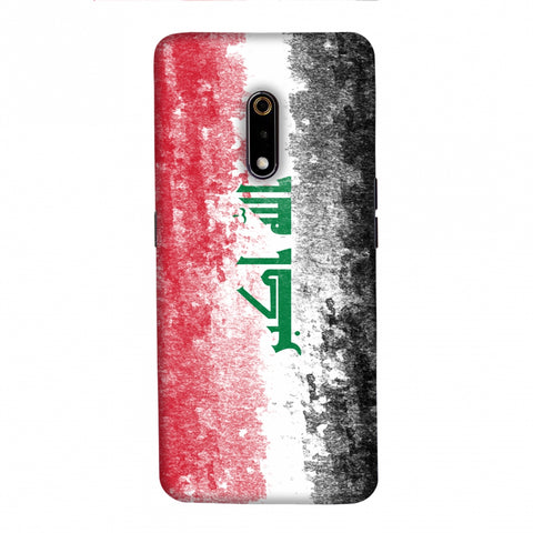 Love For Iraq Slim Hard Shell Case For Realme X