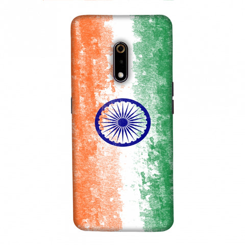 Love For India Slim Hard Shell Case For Realme X