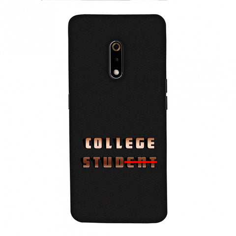 College Stud Slim Hard Shell Case For Realme X