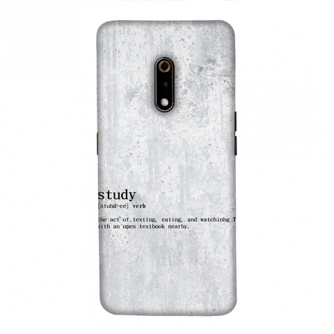 Study Definition Slim Hard Shell Case For Realme X
