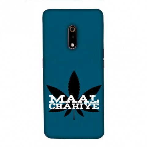 Maal Chahiye! Slim Hard Shell Case For Realme X