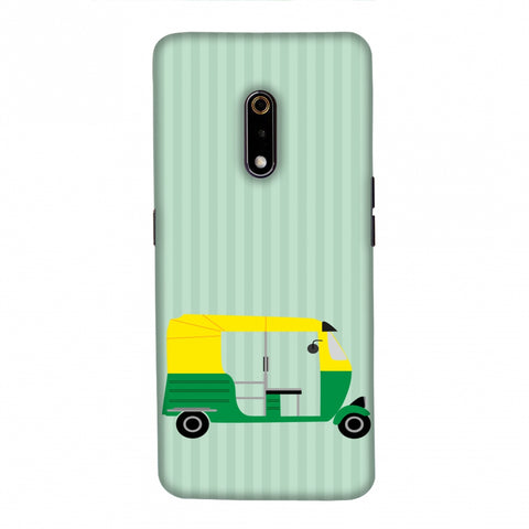 Auto Rikshaw Slim Hard Shell Case For Realme X