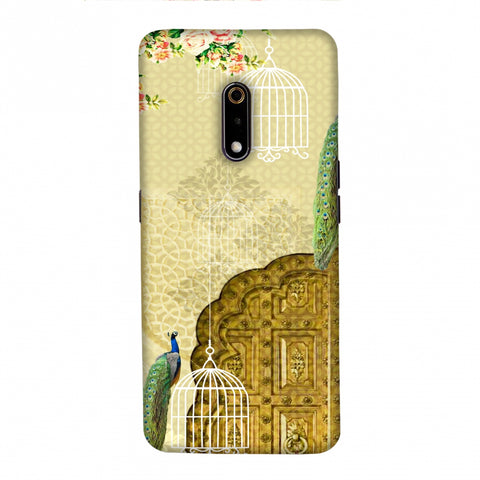 Dazzling Plumage Slim Hard Shell Case For Realme X