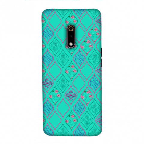 Eden Garden Slim Hard Shell Case For Realme X