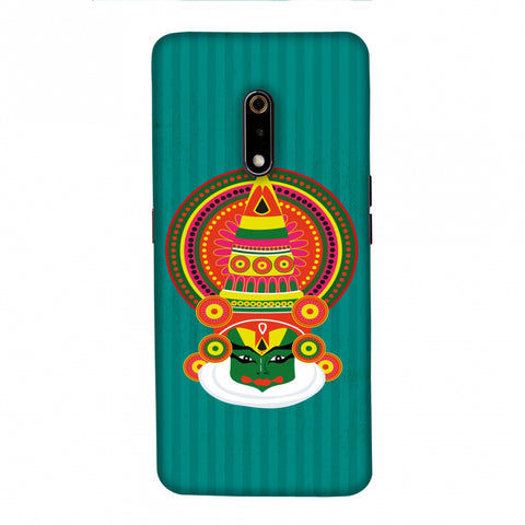 Kathakali Slim Hard Shell Case For Realme X