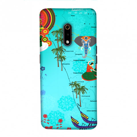 Kerala - God's Own Place Slim Hard Shell Case For Realme X