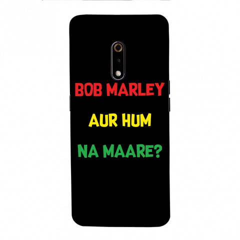 Bob Marley Slim Hard Shell Case For Realme X
