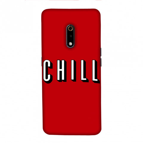 CHILL Slim Hard Shell Case For Realme X