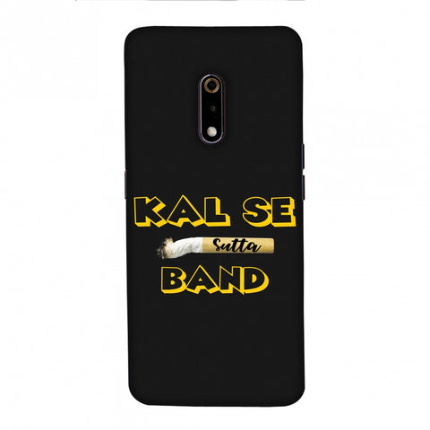 Kal Se Sutta Band Slim Hard Shell Case For Realme X