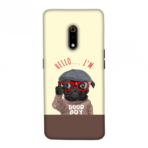 Dog - GOOD BOY Slim Hard Shell Case For Realme X/OPPO K3