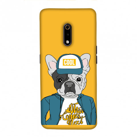Dog - COOL Slim Hard Shell Case For Realme X/OPPO K3