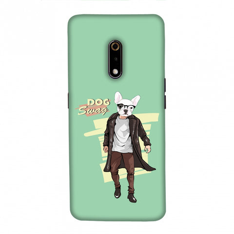 DOG Swag Slim Hard Shell Case For Realme X/OPPO K3