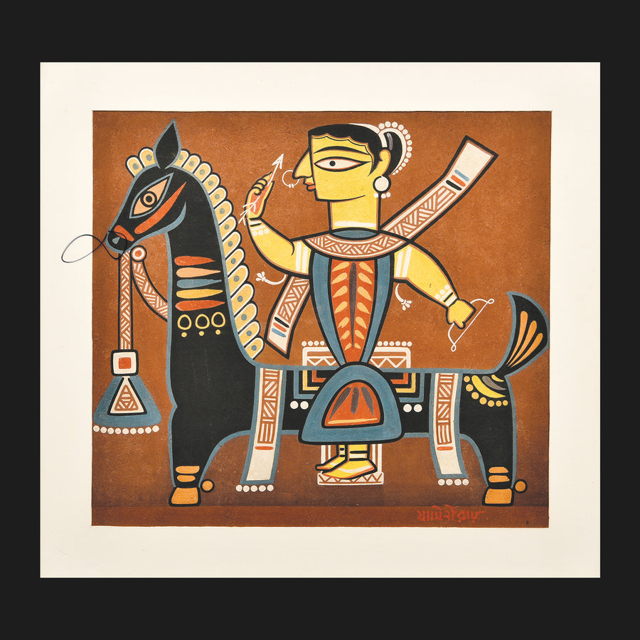 Untitled Art Work by Jamini Roy