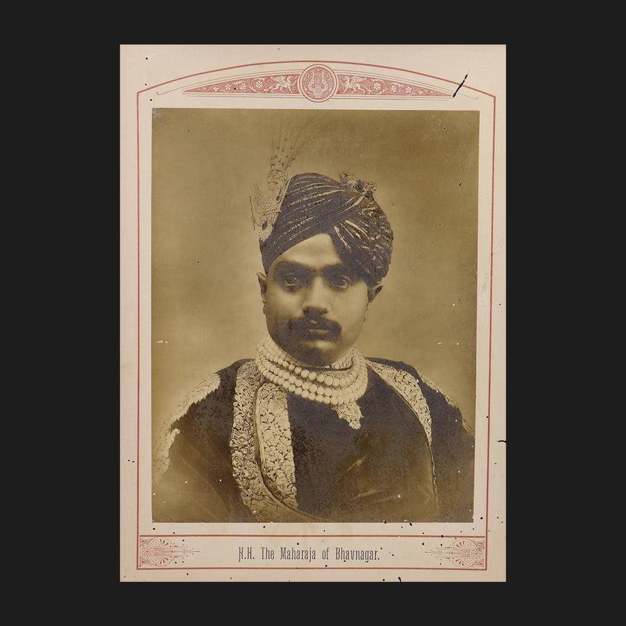 The Maharaja of Bhavanagar