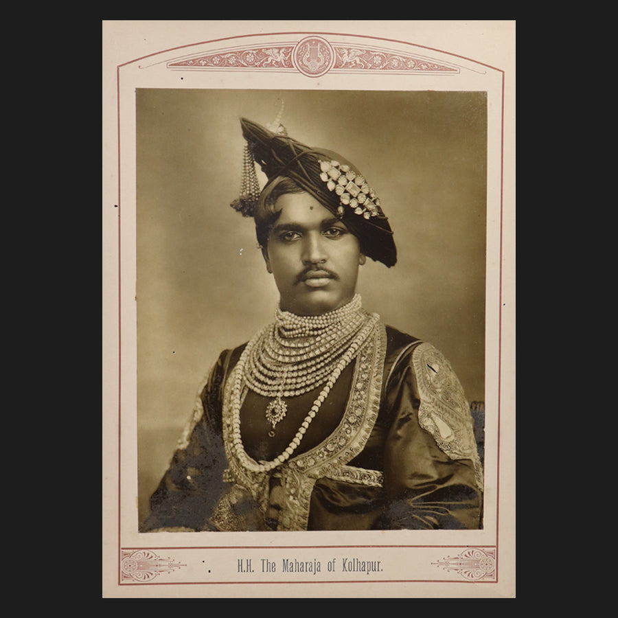 The Maharaja of Kolhapur
