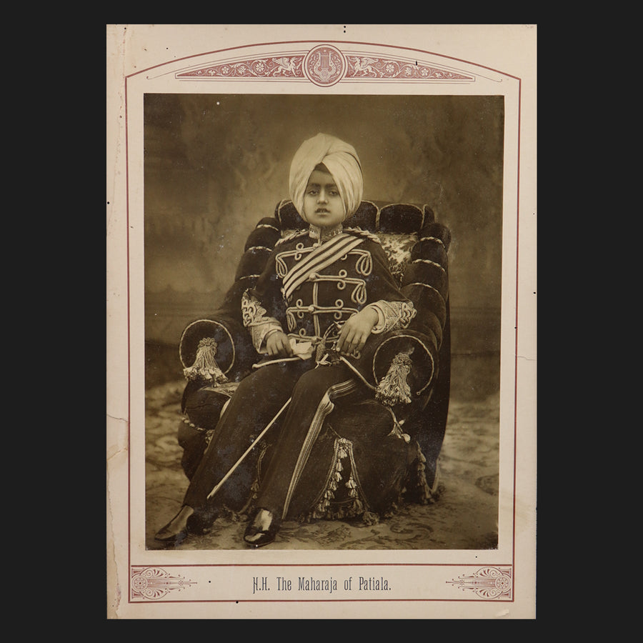 The Maharaja of Patiala - Moolagundam Art Gallery