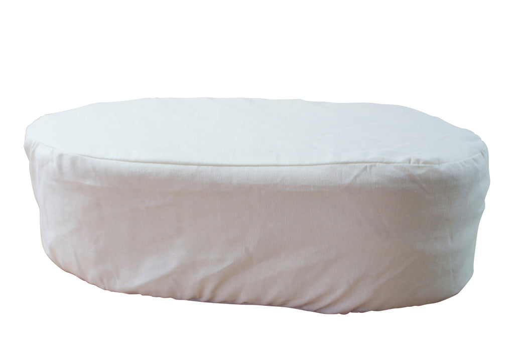 Headrest for Angel Body Pillow, cream color soft sleeping pillow for women with breast cancer