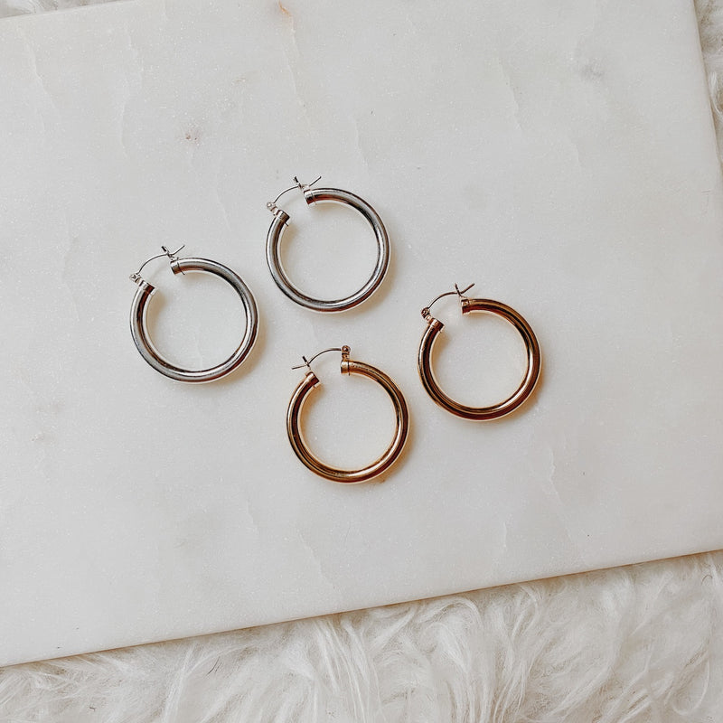 The Nora Chunky Hoop