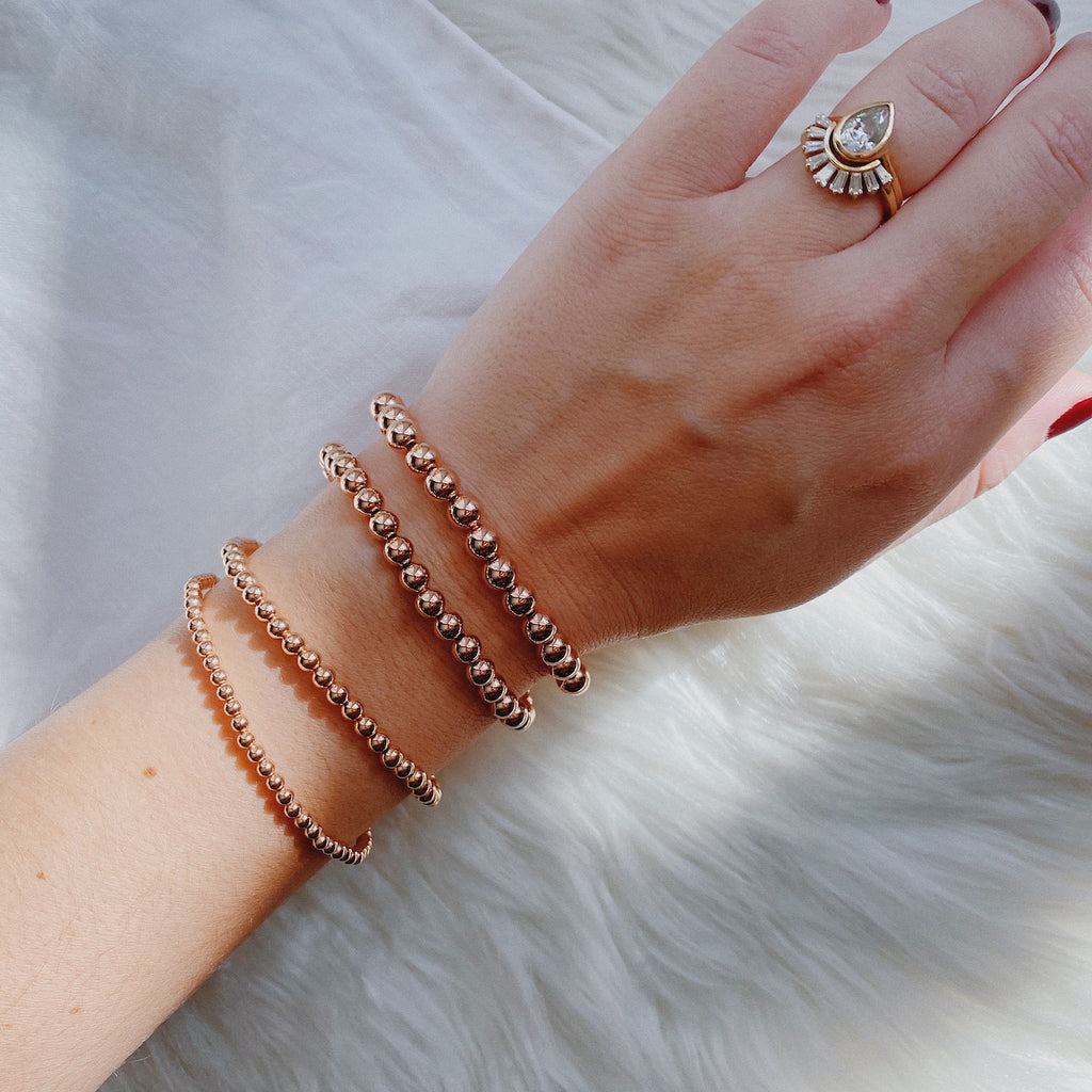 Rose Gold Filled Stacker