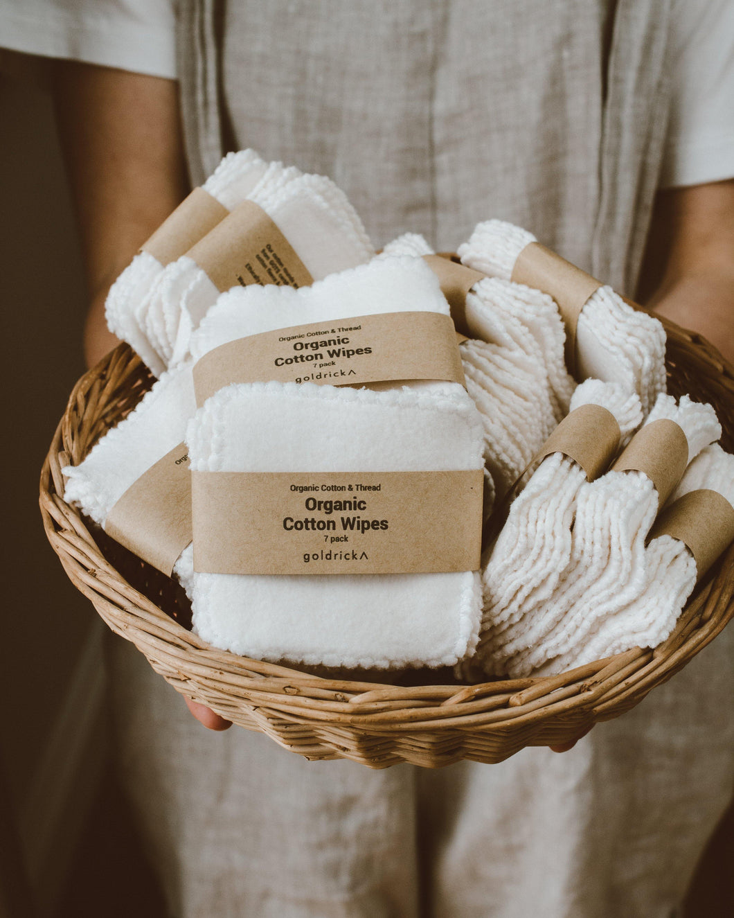 Organic Cotton Wipes | GOTS Certified Organic Cotton Fleece