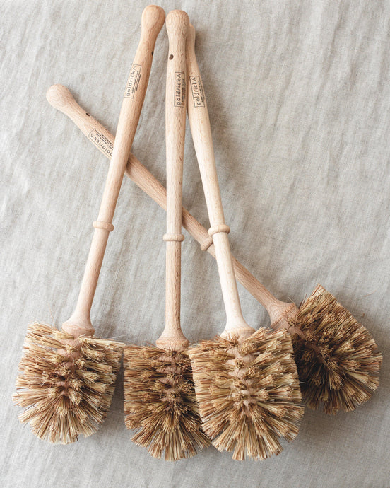 Wooden Toilet Brush | Plant-Based Bristles