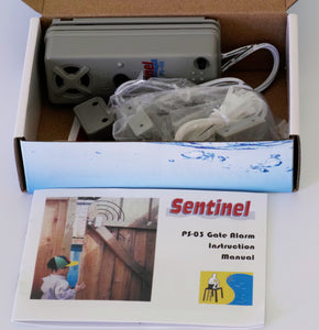 PS-03 gate alarm by Sentinel, UL2017 (available in single pack and 5-pack)