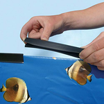 Nu Cobalt Clip-Shape Liner Coping Strips for Above Ground Swimming Pools