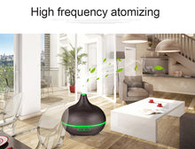 Ultrasonic Essential Oil Diffuser and Air Humidifier 7 LED Color Options  (300ml)