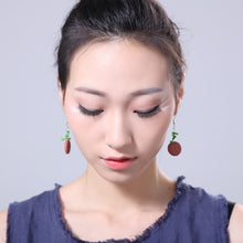 Dainty Natural Lava Stone Earrings (7 Colours)