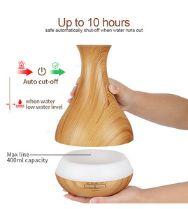 Ultrasonic Essential Oil Diffuser for home and office (400 ml)