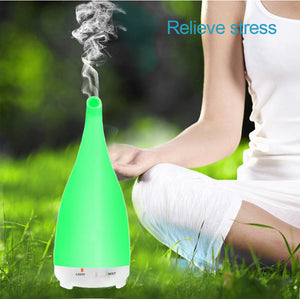 Ultrasonic Essential Oil Diffuser and Humidifier with Remote Control (200ml)